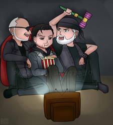Alan, Tor and Odin