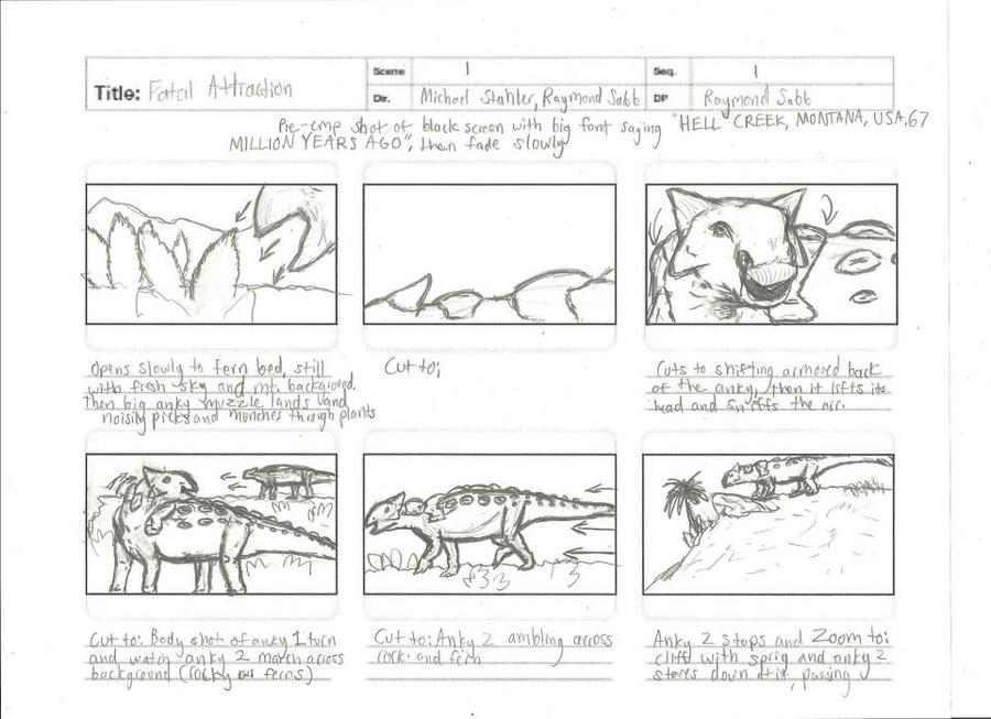Storyboard Sample  By Ressurexstudios On Deviantart