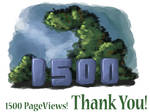 1500 PageViews - Thanks