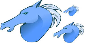 Horse Head - Clipart