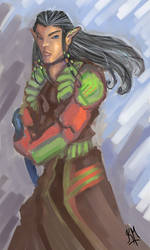 The Ronin Elf