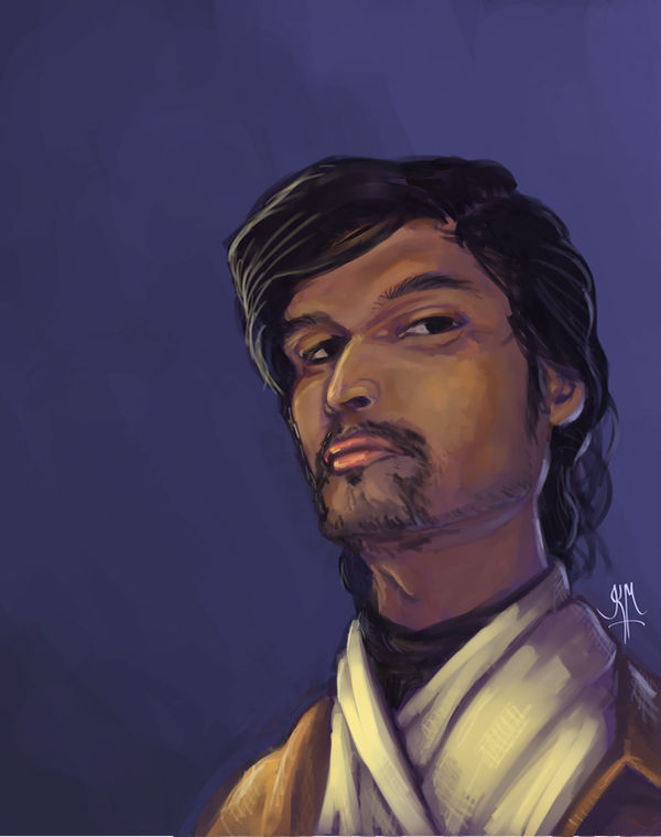 Self Portrait - 3 - Jedi