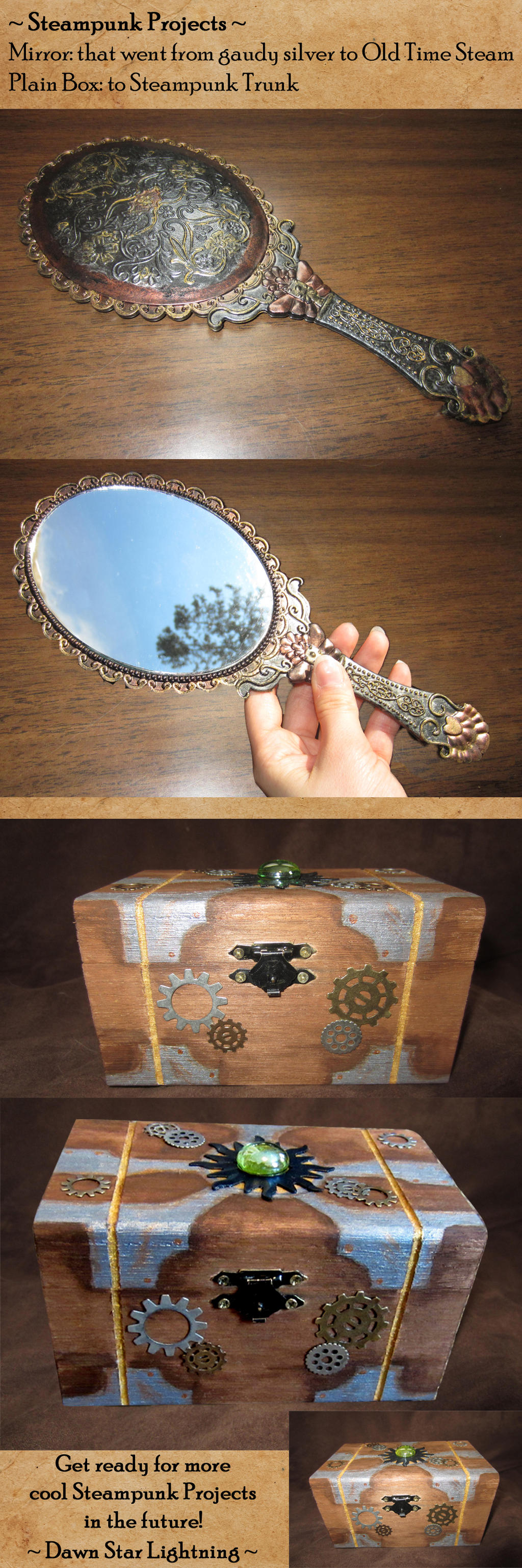 Steampunk projects by dawnstarlightning on deviantart for Steampunk arts and crafts