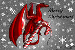 Candy Cane Dragon Request Gift