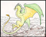 Mountain Dragon- Background Practice