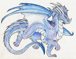 Traditional Dragon Request by Lucieniibi