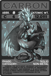Scygon Elemental Cards- Carbon