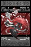 Scygon Elemental Cards- Phosphorus