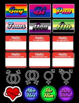 Queer Sticker Sheet!