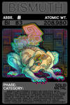 Scygon Elemental Cards- Bismuth
