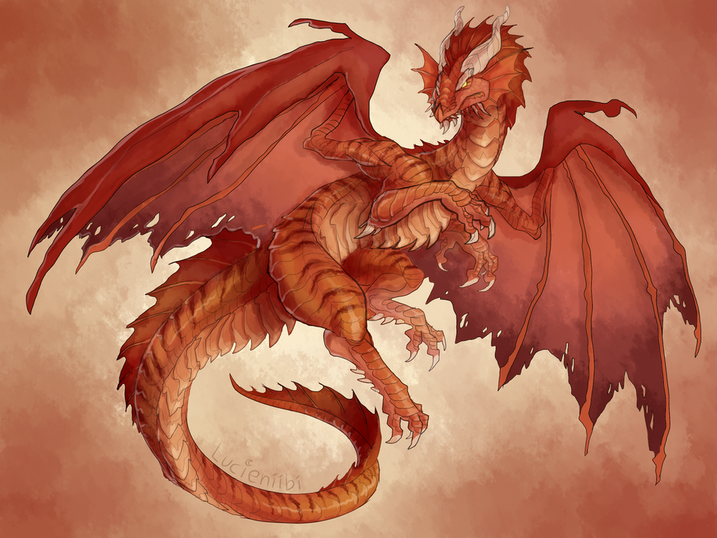 Dnd Red Dragon: Ancient Red Dragon By Lucieniibi On DeviantArt