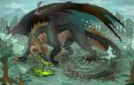 Malbetroch- Prismetal Dragon- DnD [Commission]