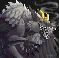 Smokey Demon by Lucieniibi