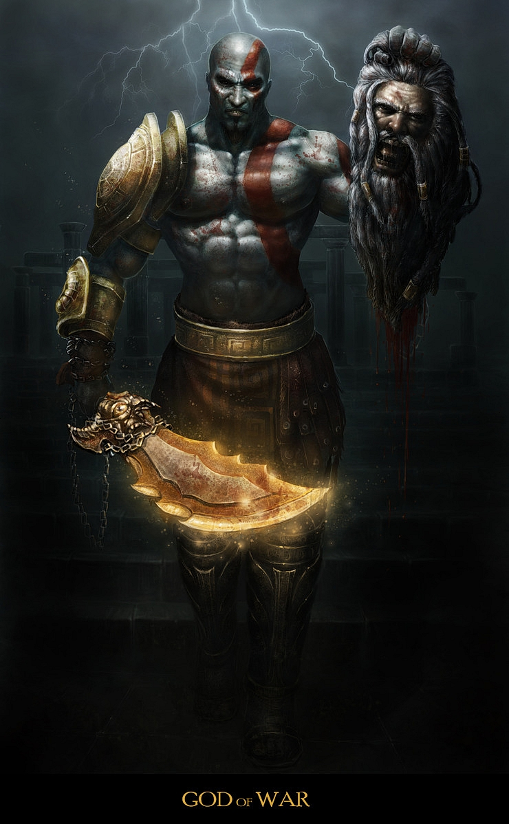 GOD OF WAR by choigebareun