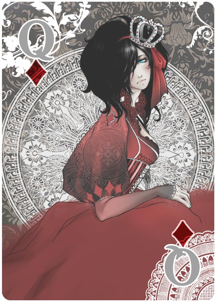 Queen of Diamonds Nouveau by jaisamp