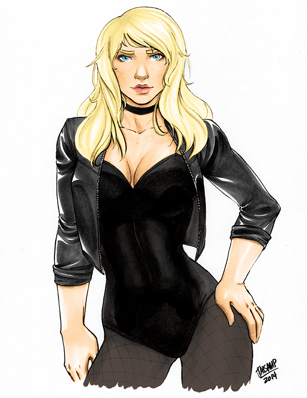 Black Canary by jaisamp