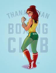 Thanagarian Boxing Squad by jaisamp