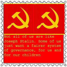 Pro Communist Stamp by KaiHallarn111