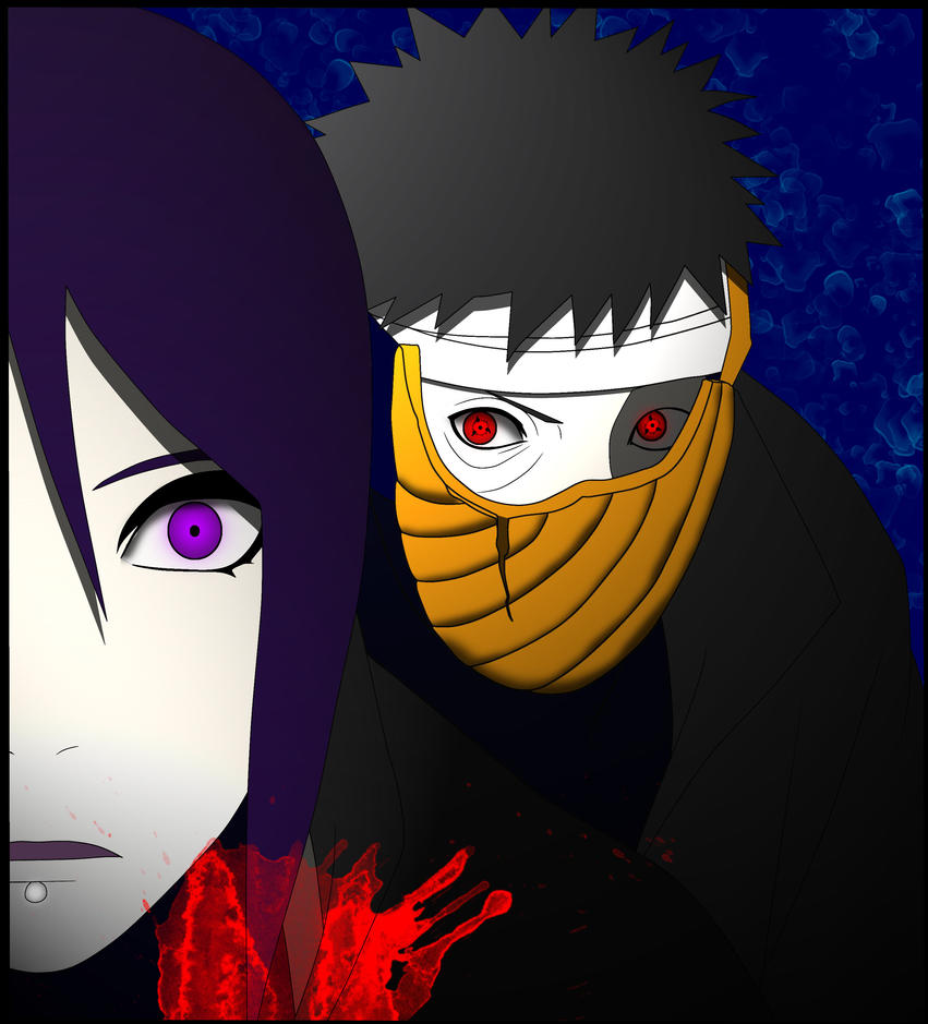 Konan Vs Tobi by Luffffy on DeviantArt