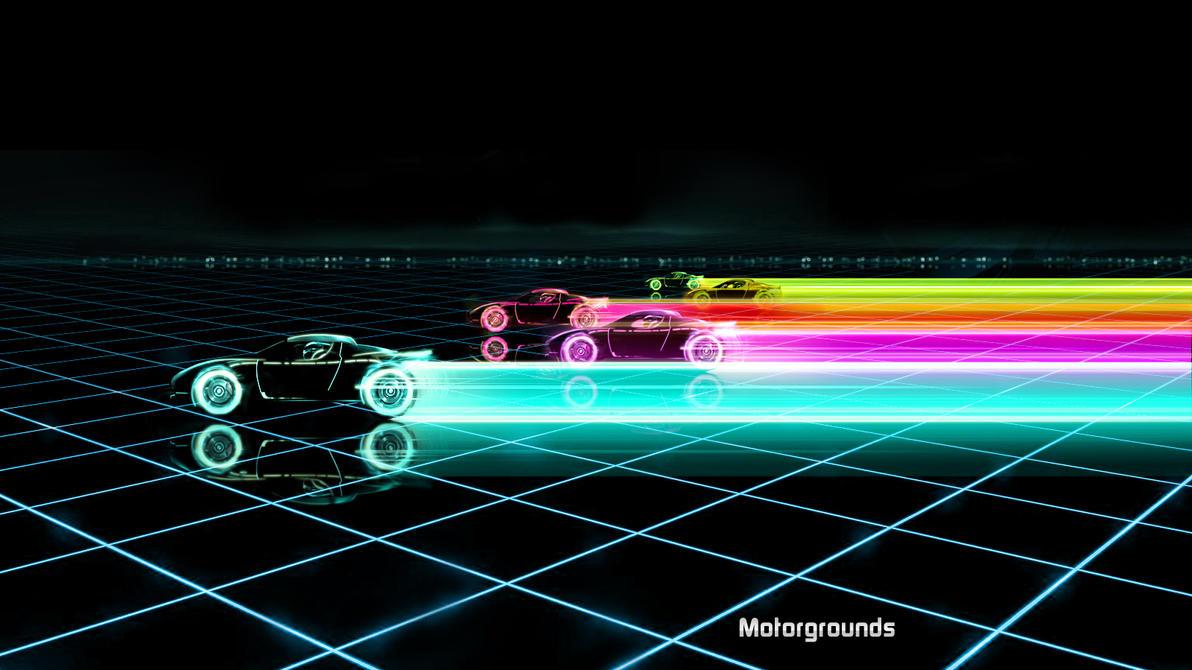 Pubg By Sodano On Deviantart: Tron Tesla Roadster By Motorgrounds On DeviantArt