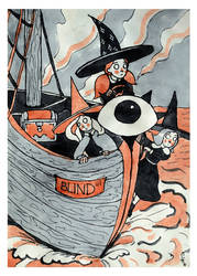 Blind ship
