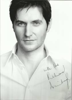 Richard Armitage Autograph