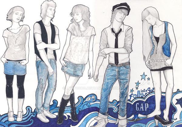 fashion illustration by lurycoco