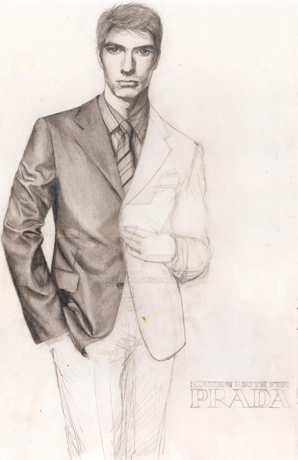Prada Sketch by lurycoco