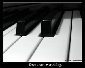 Keys aren't everything.