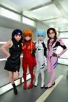 Evangelion four charactors