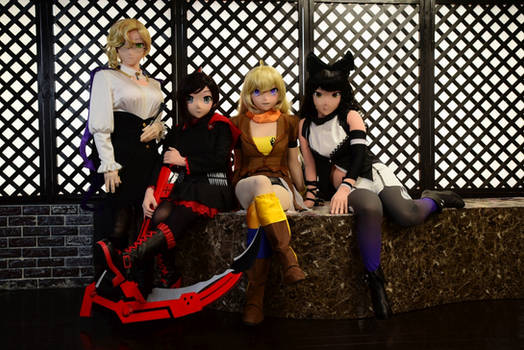 Japanese RWBY kigurumi team in March 2020