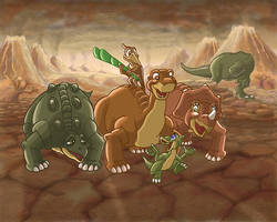 The Land Before Time by Vanlande