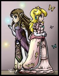 Peachy Zelda by SMeadows
