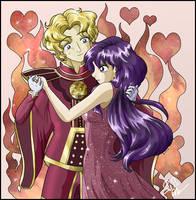 Princess Mars and Jadeite by SMeadows