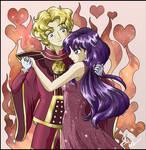 Princess Mars and Jadeite