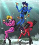 Diving Senshi