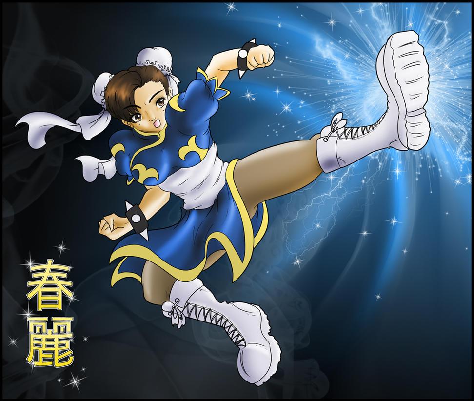 Chun-Li by SMeadows