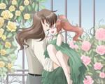 Rose Garden Romance by SMeadows