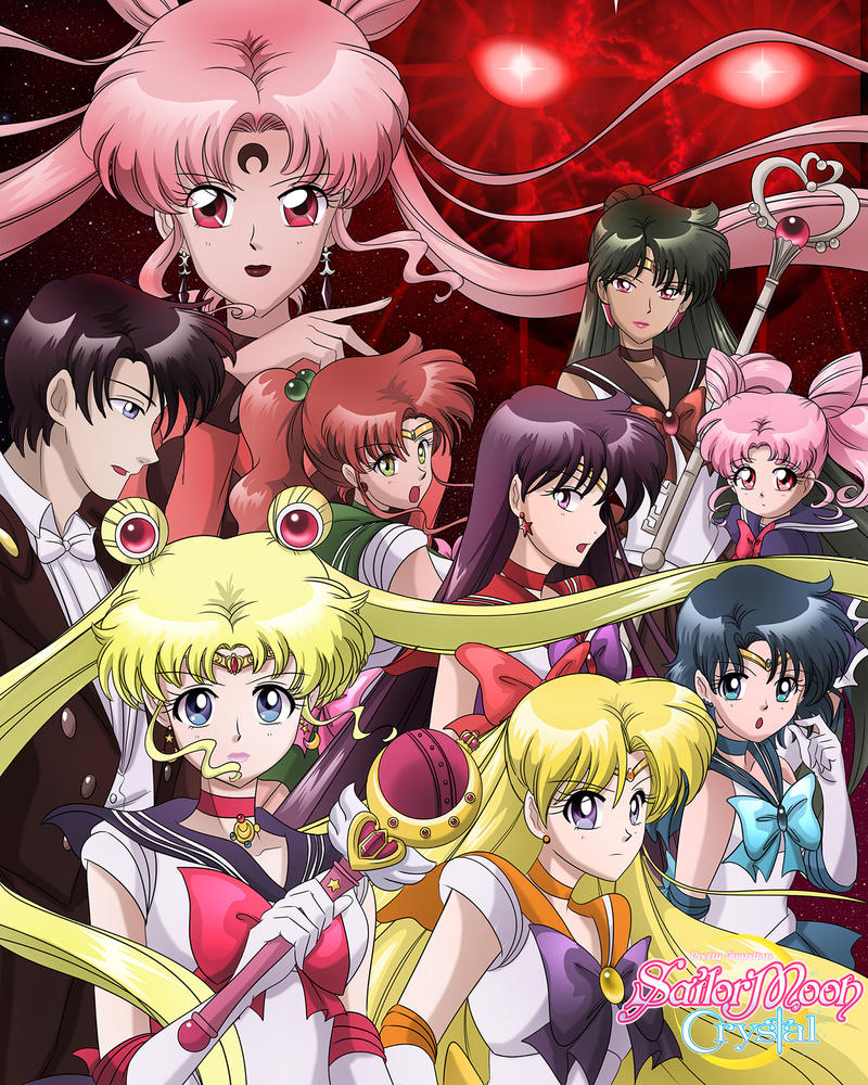 Sailor Moon Crystal Black Moon by SMeadows