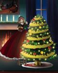 Hoop Skirt Christmas by SMeadows