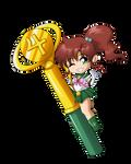 Sailor Jupiter Wand