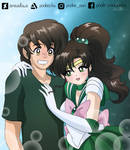 Shawn and Sailor Jupiter by SMeadows