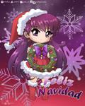 Feliz Navidad Sailor Mars 2019