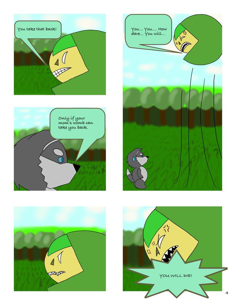 Comic page 4 by DavidGilliam925