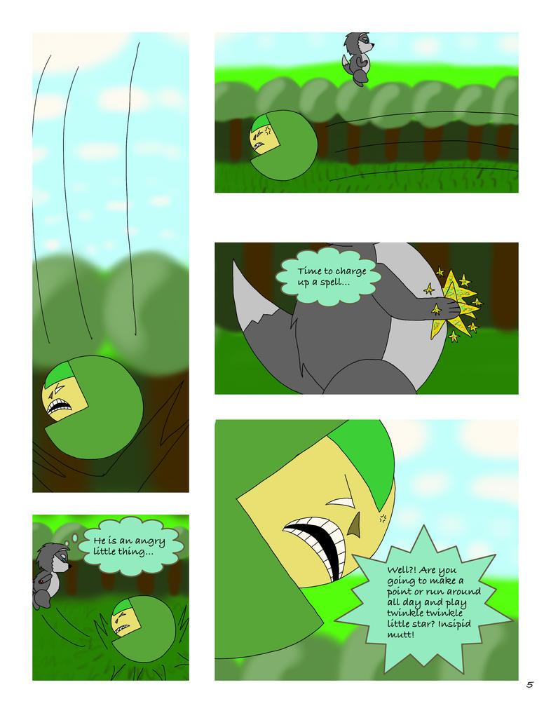 Comic page 5 by DavidGilliam925