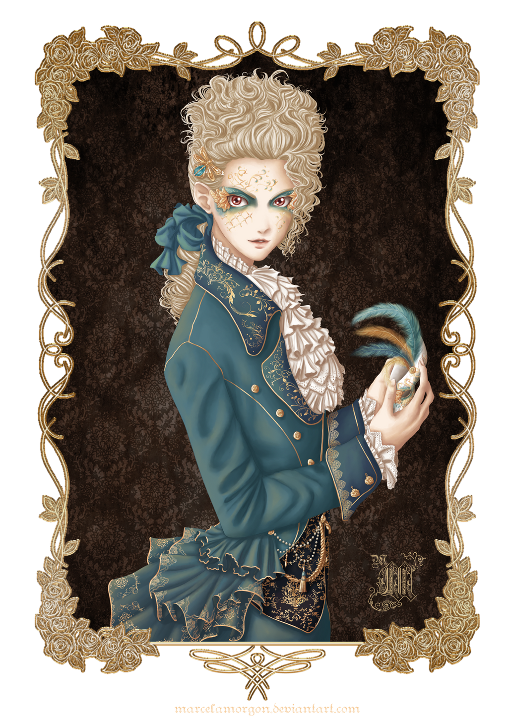 Masquerade by MarcelaMorgon