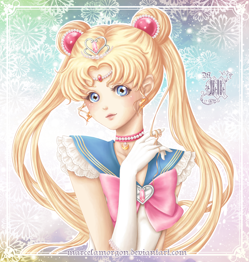 Princess Sailor Moon By MarcelaMorgon
