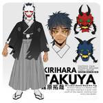 Kimetsu no Yaiba OC   Kirihara Takuya