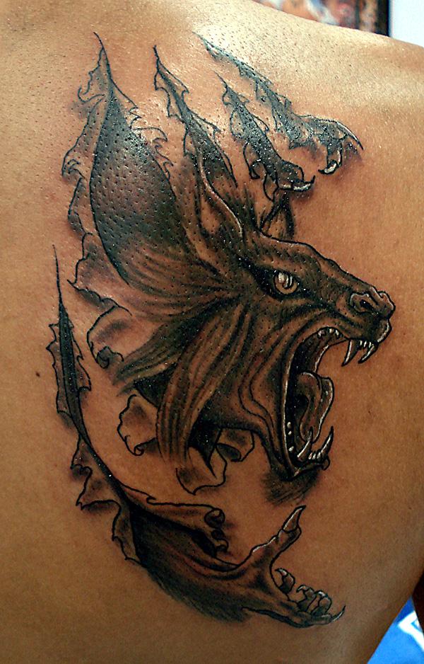 By gittson on deviantart for Badass first tattoos