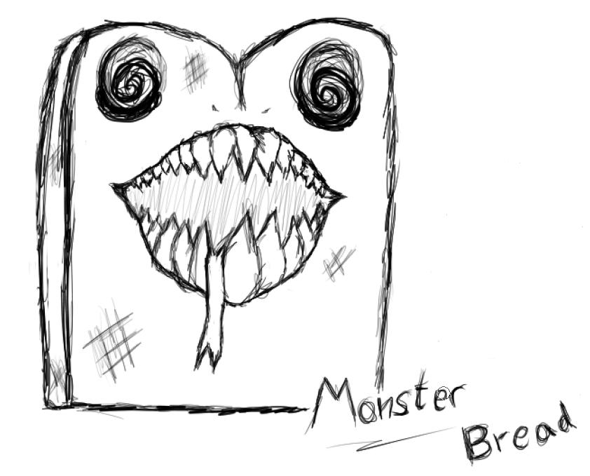 Monster Bread by Narkisim